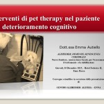 Interventi di pet therapy