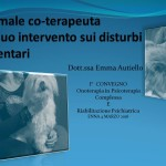 L'animale co-terapeuta 4 marzo